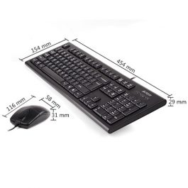 A4TECH KR 8520 Wired mouse and keyboard