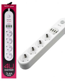 چندراهی برق TSCO Power Strip TPS548U