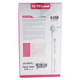 چندراهی برق TSCO Power Strip TPS550U