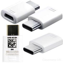 تبدیل Samsung Type-C to Micro USB سفید