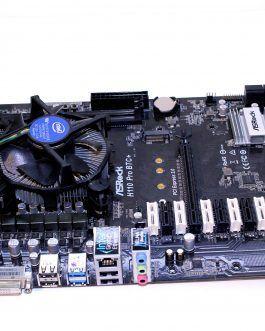 مادر برد ASROCK  H110 Pro BTC بهمراه پردازنده