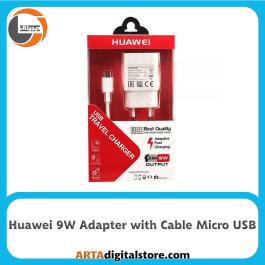 آداپتور شارژر هواوی Huawei Charger Adapter 9W 2A بهمراه کابل Micro USB