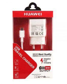 شارژر  HUAWEI 9W 2A با کابل Micro USB