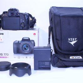 دوربین Canon 77D + 18-55 IS STM