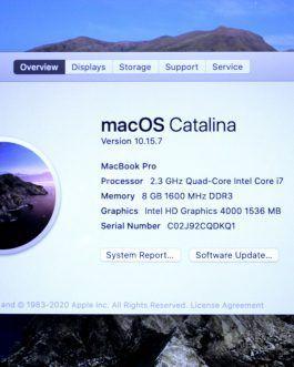 اپل مک بوک پرو Apple MacBook Pro A1398 MC975LL/A