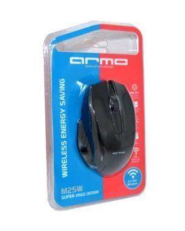 ماوس بی سیم آرمو Armo Mouse M25W مشکی