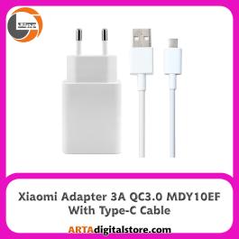 آداپتور شارژر شیائومی Xiaomi Adapter MDY-10-EF 3A QC3.0 با کابل Type-C
