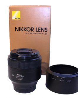 لنز دوربین نیکون Nikon Nikkor AF-S 85mm f/1.8G