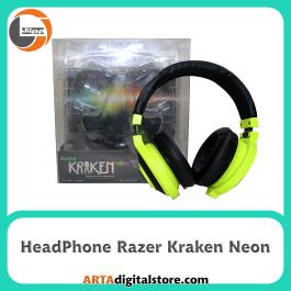 هدفون ریزر HeadPhone Razer Kraken Neon Yellow