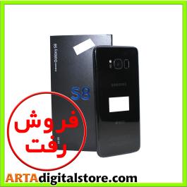 سامسونگ  Samsung Galaxy S8 Dual 4GB/64GB Midnight Black