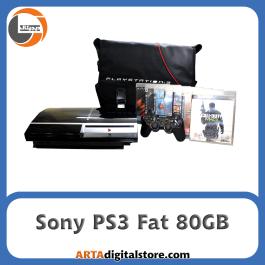 کنسول Sony PS3 Fat 80GB  دو دسته